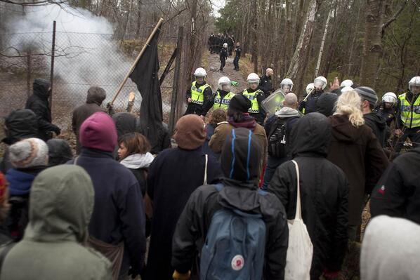 Ruotsin poliisi - natsien turva?