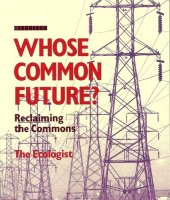 Whose common future: reclaiming the commons describes how one of the main forces underlying evictions in both urban and rural areas is the enclosure of land and other resources which had previously been managed by local communities. This enclosure not only destroys homes, settlements and (in many instances) livelihoods but also undermines the institutions and cultural pattern that protected